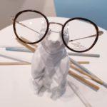 lunettes de vue enfant mixte whistler hills metal ronde et ecaille