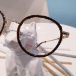 monture de lunettes de vue fille tendance ronde et vintage
