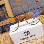 lunettes de vue femme french retro forme ronde vintage opticien camargue