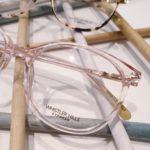 lunettes de vue femme whistler hills plastique rose transluciide gael et sophie opticiens saint-gilles 30800