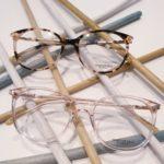 lunettes de vue femme whistler hills plastique rose translucide et écaille rose