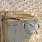 lunettes de vue forme ronde tour metal écaille et or mate whistler hills modèle mixte