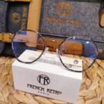 lunettes de vue femme french retro forme hexagonale tendance