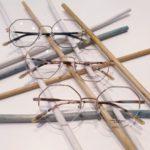 lunettes de vue femme whistler hills tendance octogonale metal fine or rose et or et noir