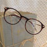 lunettes de vue femme plastique écaille brun rouge branches fines opticiens 30800